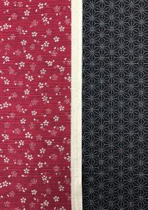 Cosmo & Sevenberry Japanese double sided fabric