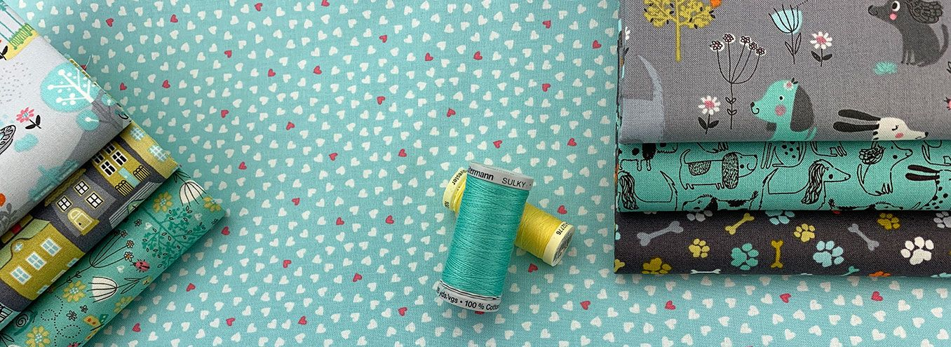 LINEA Collection by Makower 100/% cotton Quilting Weight Craft Fabric Blenders