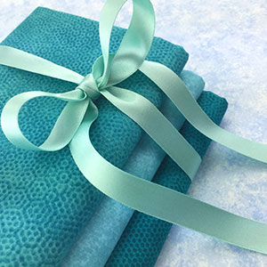 Blue, Turquoise & Green Blender Fabrics