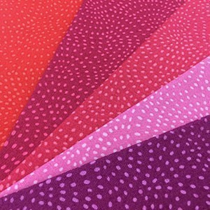 Red, Pink & Purple Blender Fabrics