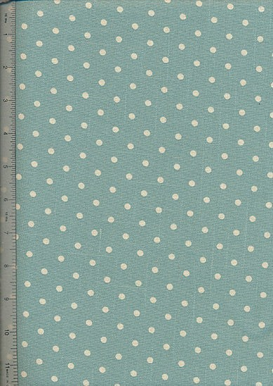 Linen Look Cotton - Small Spots 9124-B