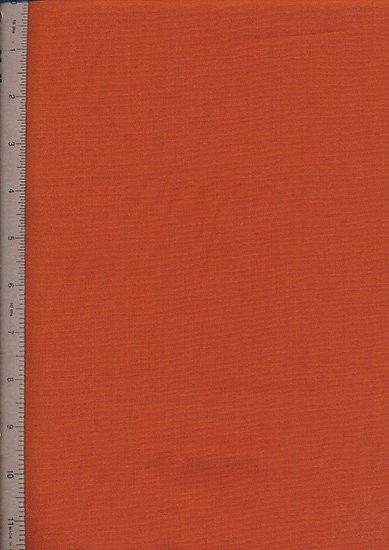 Plain Cotton Fabric - 55 Terracotta