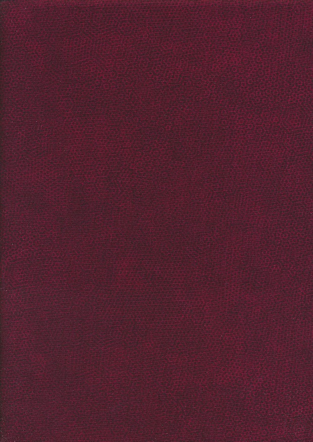 Makower Dimples - Wine Red R6