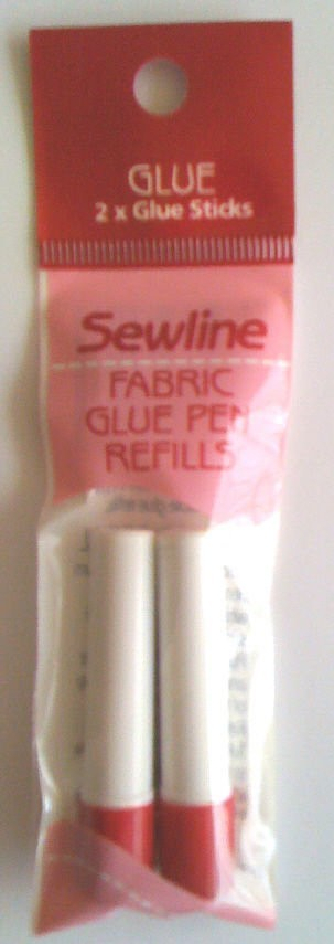 Sewline Water Soluble Glue Stick Refill Blue