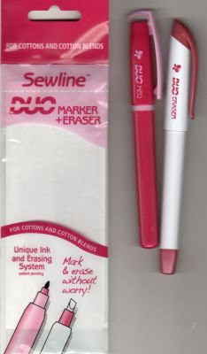 Sewline Duo Marker and Eraser