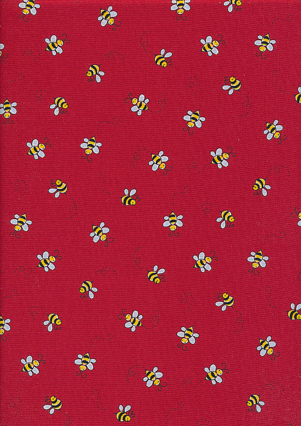 Andover Fabrics - Bumble Bee 9715 Col-R Red