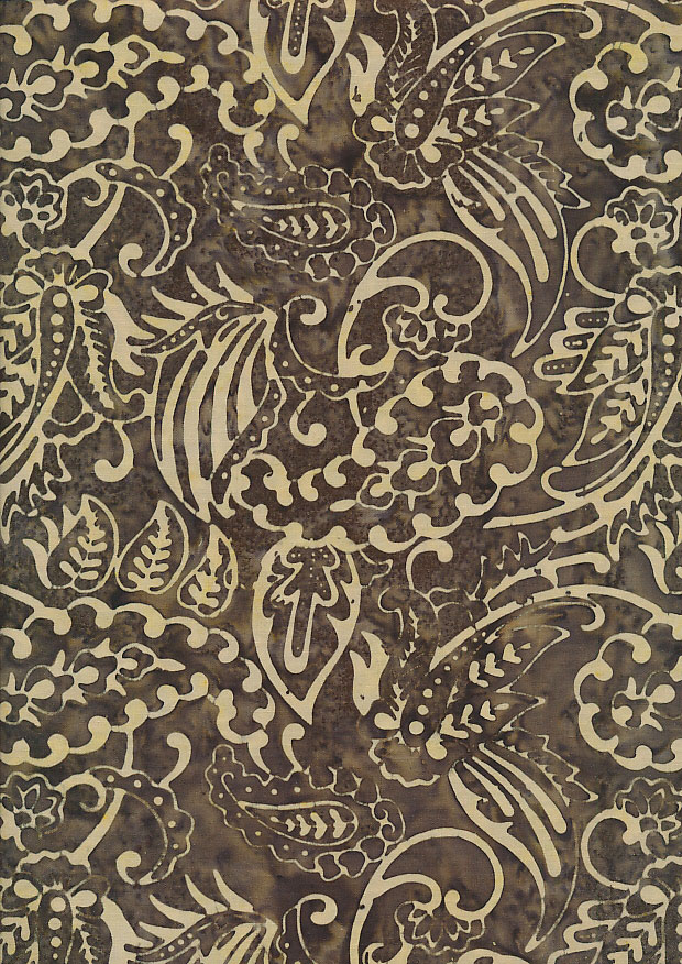 Fabric Freedom - Bali Batik Stamp FF407/F
