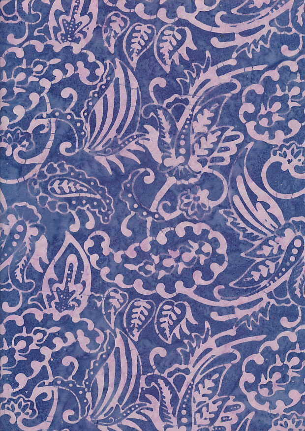 Fabric Freedom - Bali Batik Stamp FF407/J