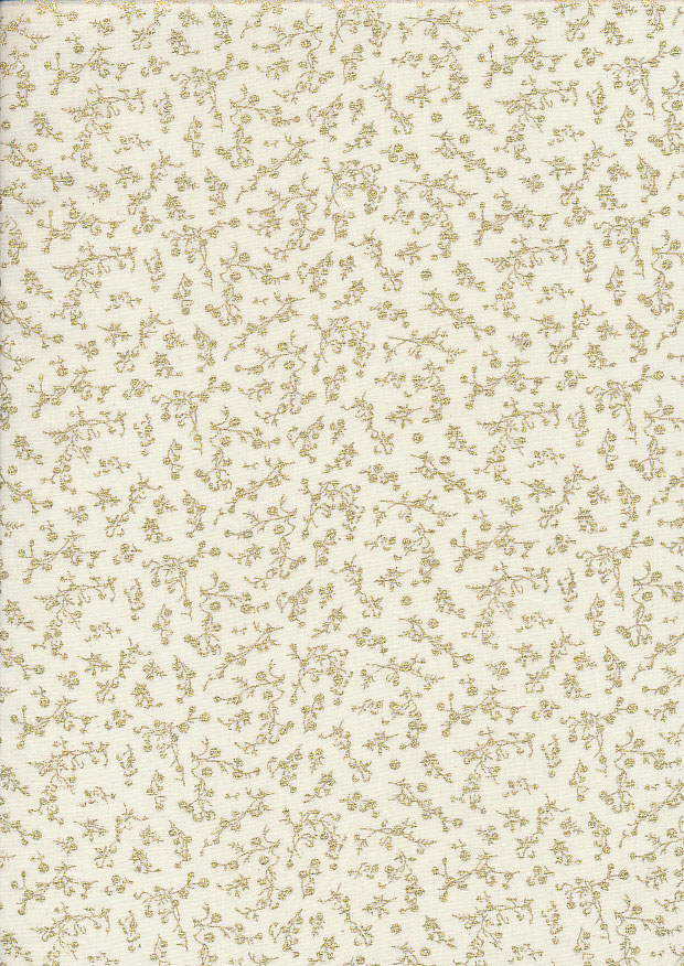 Fabric Freedom - Christmas Metallic FF524-2