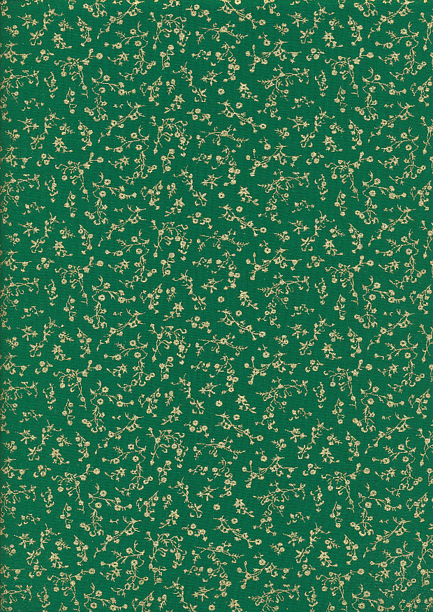 Fabric Freedom - Christmas Metallic FF524-3