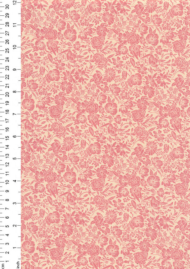 Rose & Hubble - Quality Cotton Print CP-0858 Rose