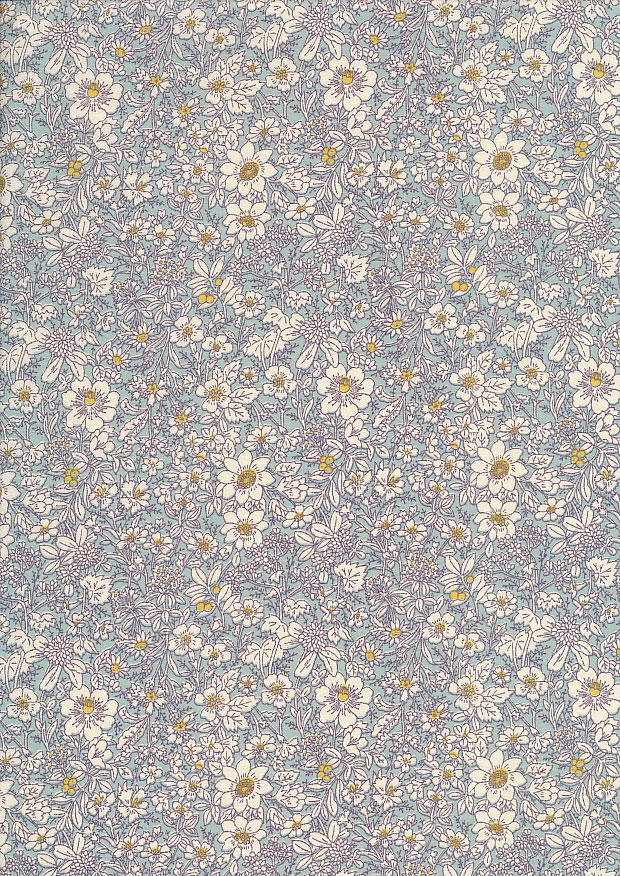 Rose & Hubble - Quality Cotton Print CP-0221 Sky