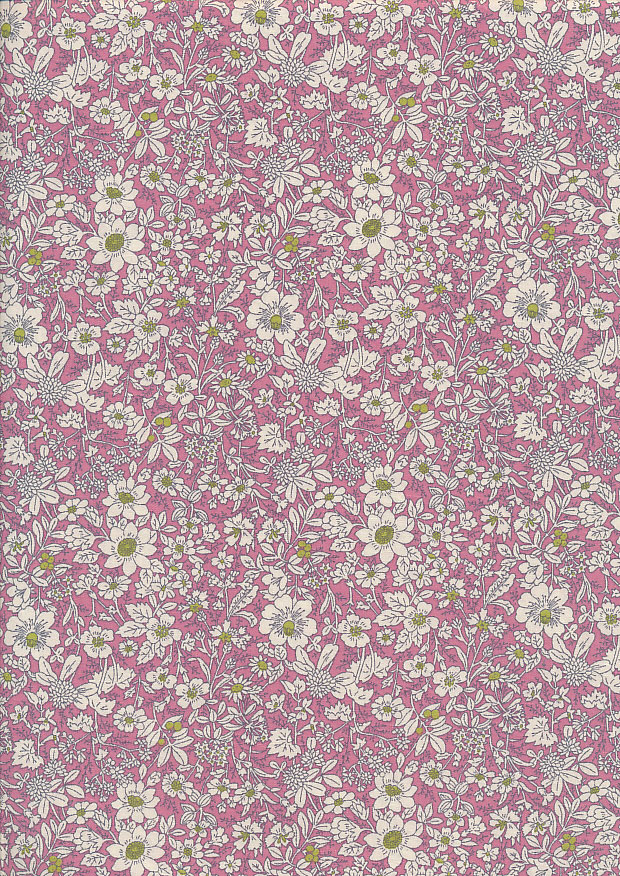 Rose & Hubble - Quality Cotton Print CP-0221 Pink