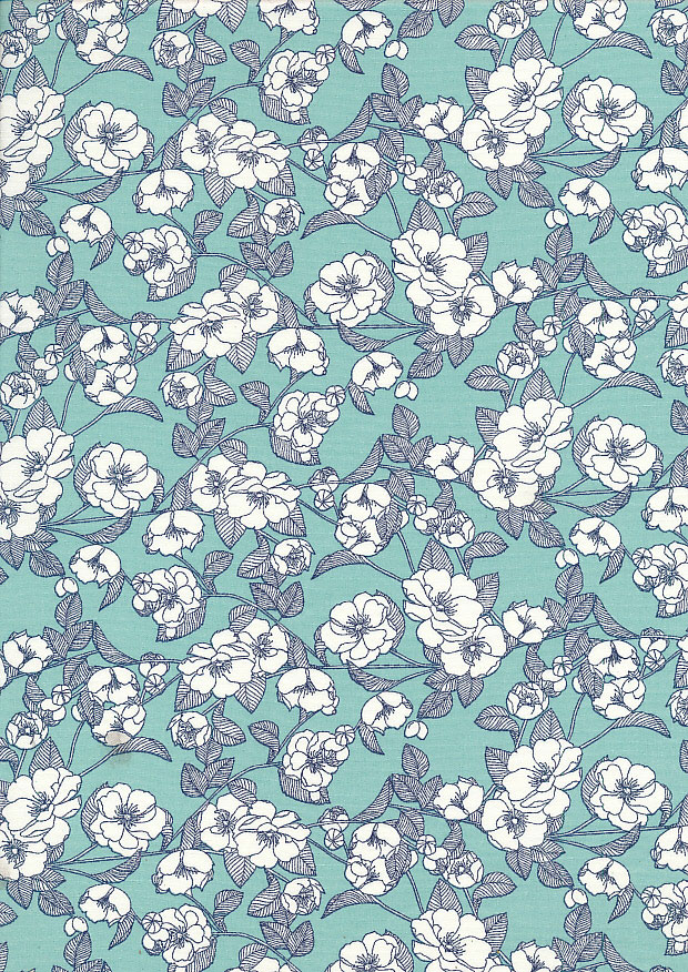 Rose & Hubble - Quality Cotton Print CP-0756 Mint