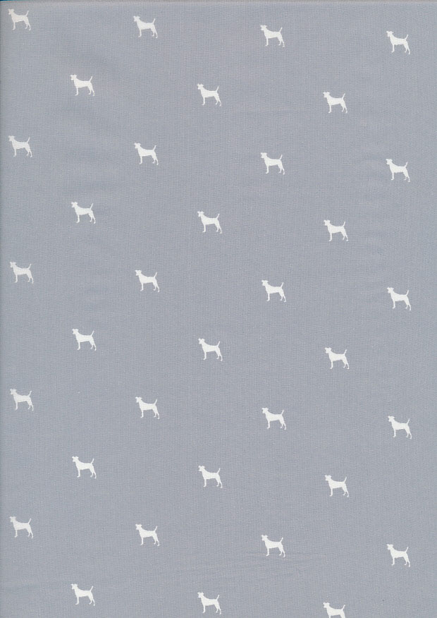 Lady McElroy Cotton Lawn Dogs -Green