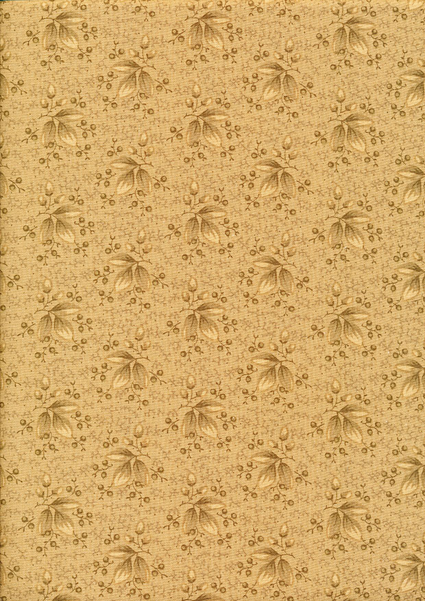 P&B Extra Wide - Scattered Leaves Warm Taupe