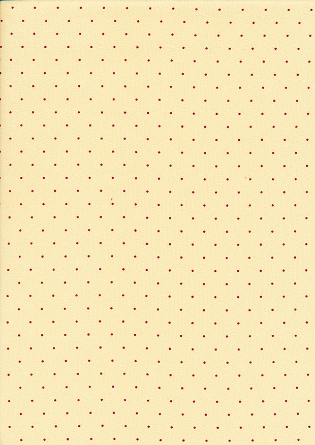 P&B Extra Wide - Polka Dot Red and Cream
