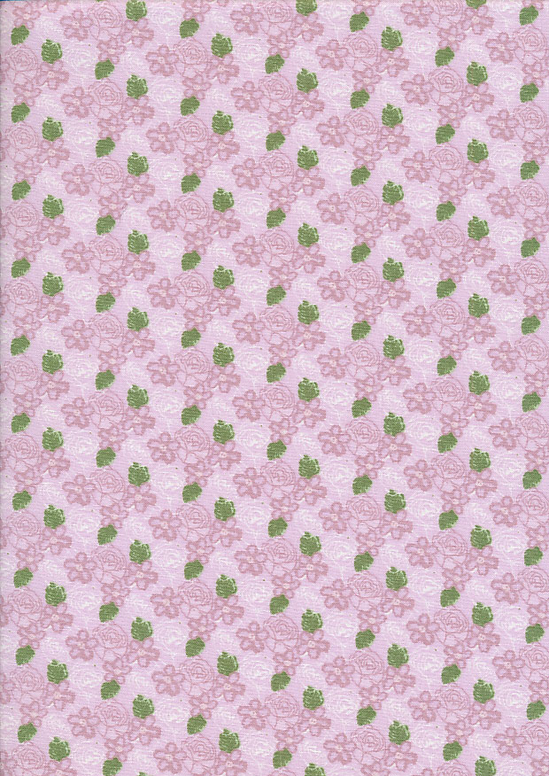 Fabric Freedom - Butterflies & Birds Collection FF243-1 PINK