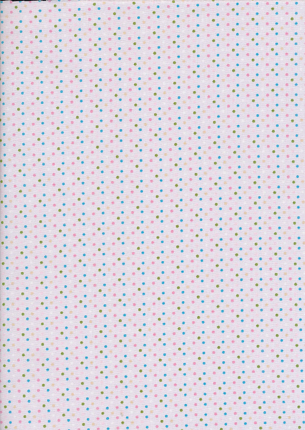 Fabric Freedom - Butterflies & Birds Collection FF245-1 PINK