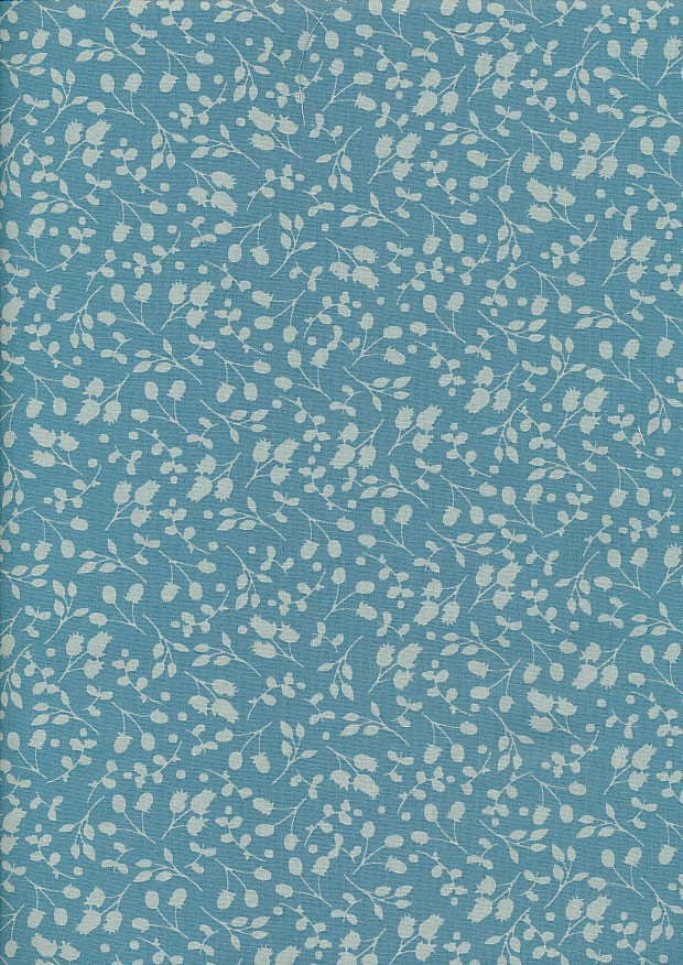 Fabric Freedom Floral Shadow - Spearmint Sprig FF10-8