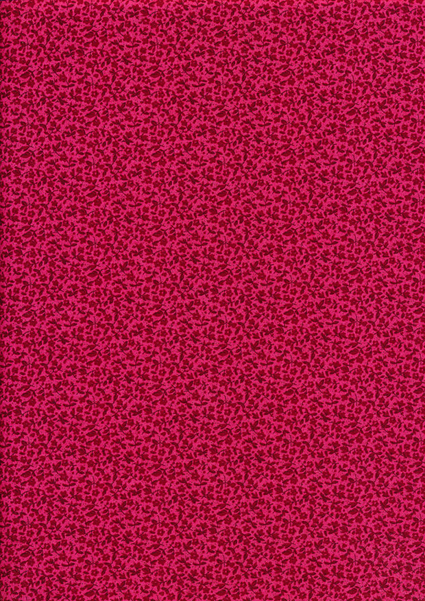 Fabric Freedom - Floral Delight Red 353-6