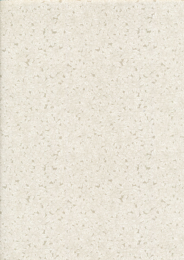 Fabric Freedom - Floral Delight Taupe CTS 388
