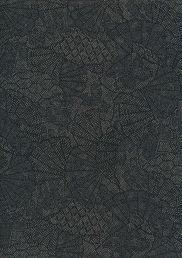Sevenberry Japanese Fabric - Fossil Black