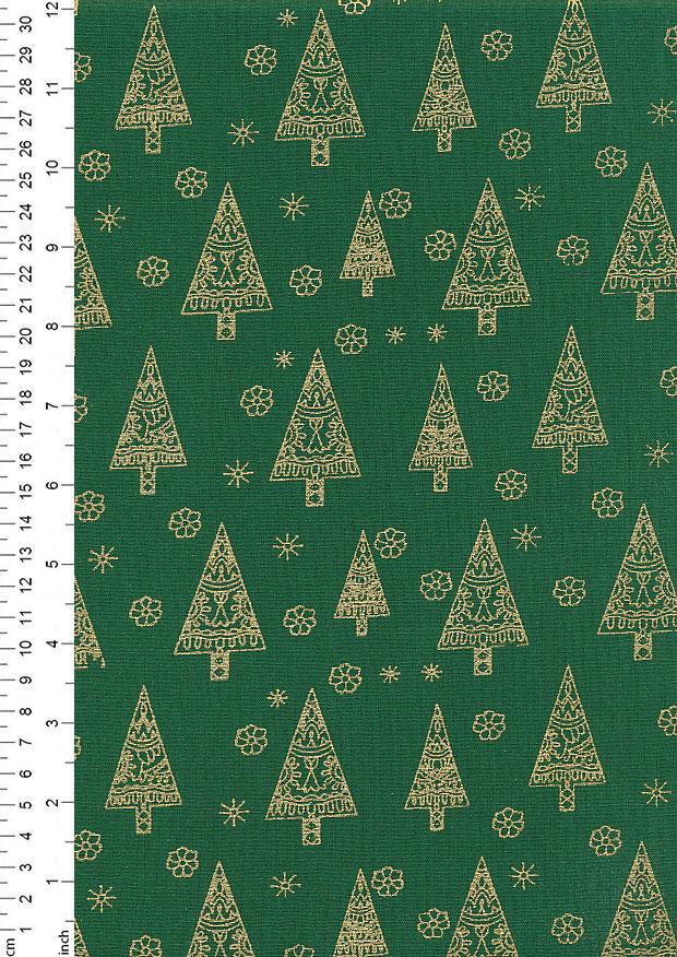 SCANDINAVIAN STARS John Louden Cotton Quilting Fabric CHRISTMAS Craft Festive