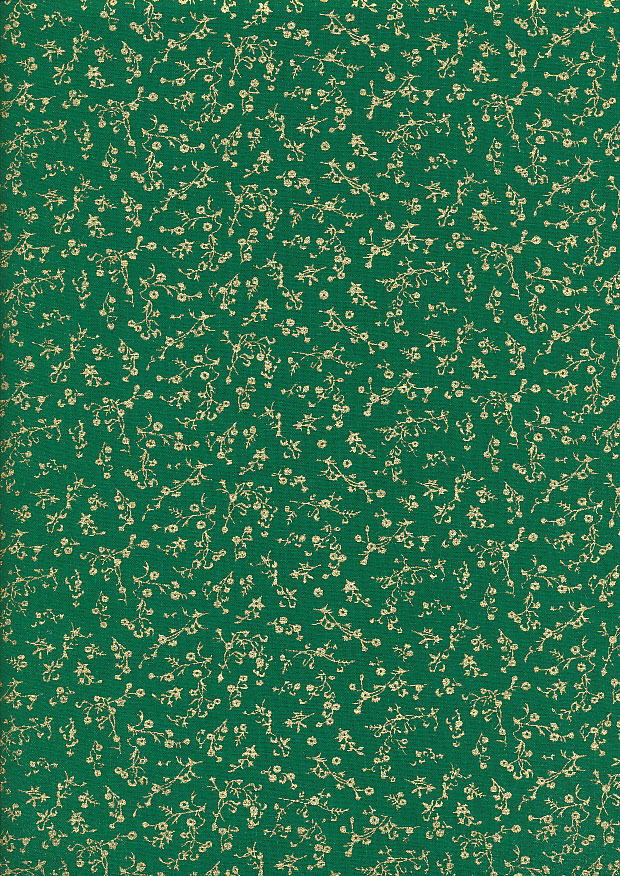 Fabric Freedom - Christmas FF524-3 Green