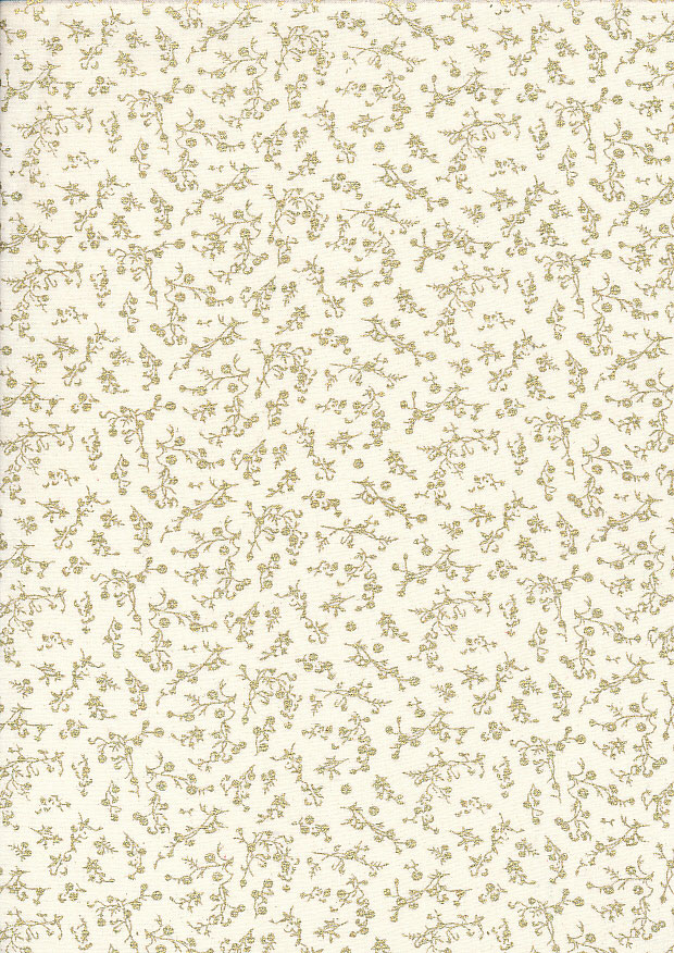 Fabric Freedom - Christmas FF524-2 Cream
