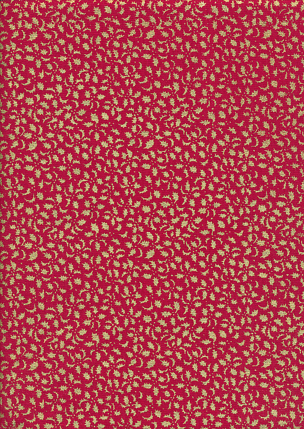 Fabric Freedom - Christmas FF523-1 Red