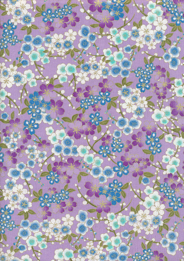 Fabric Freedom - Japanese Foil P0237-Lilac