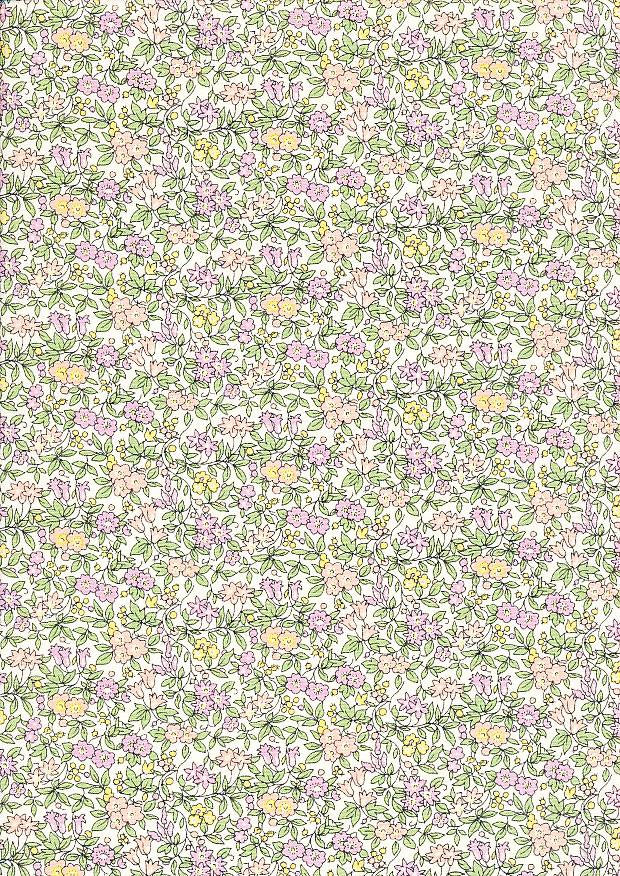 Forget Me Not Liberty of London Cotton Fabric The Cottage Garden