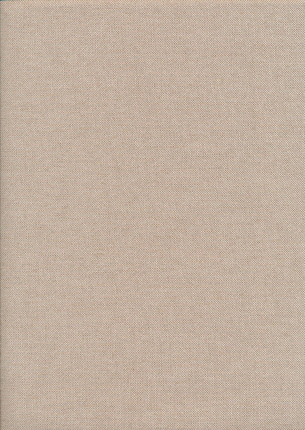 Linen Look Cotton - Plain Taupe