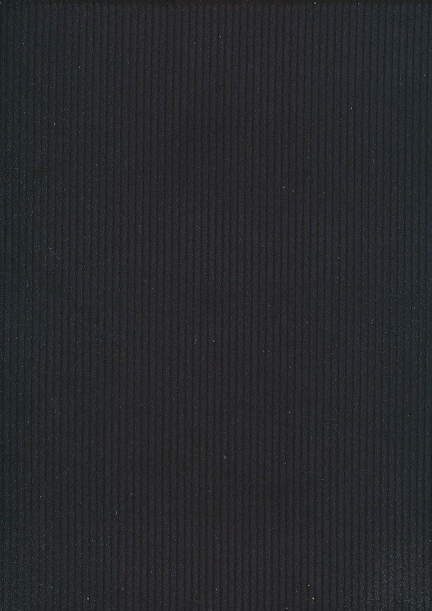 Cotton Wale Corduroy - Black C3047