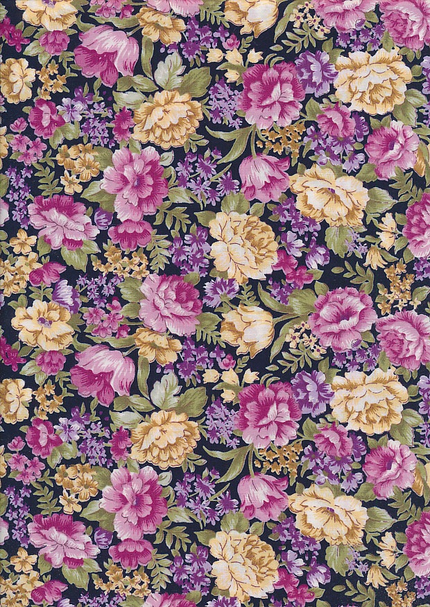 Fabric Freedom - Quality Cotton Print CTS412-4 Floral
