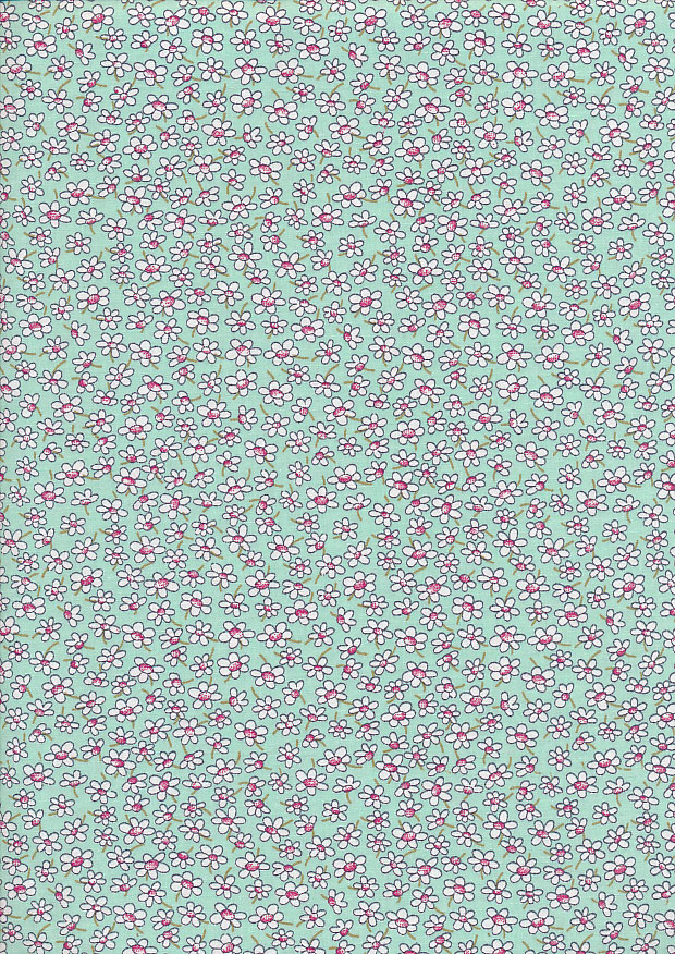 Rose & Hubble - Quality Cotton Print CP-0861 Mint
