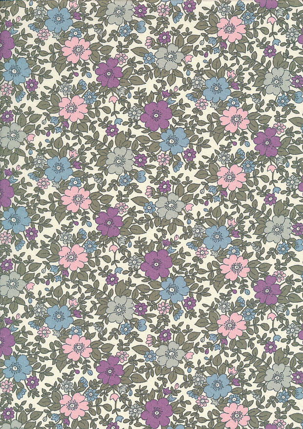 Rose & Hubble - Quality Cotton Print CP-0223 Lilac