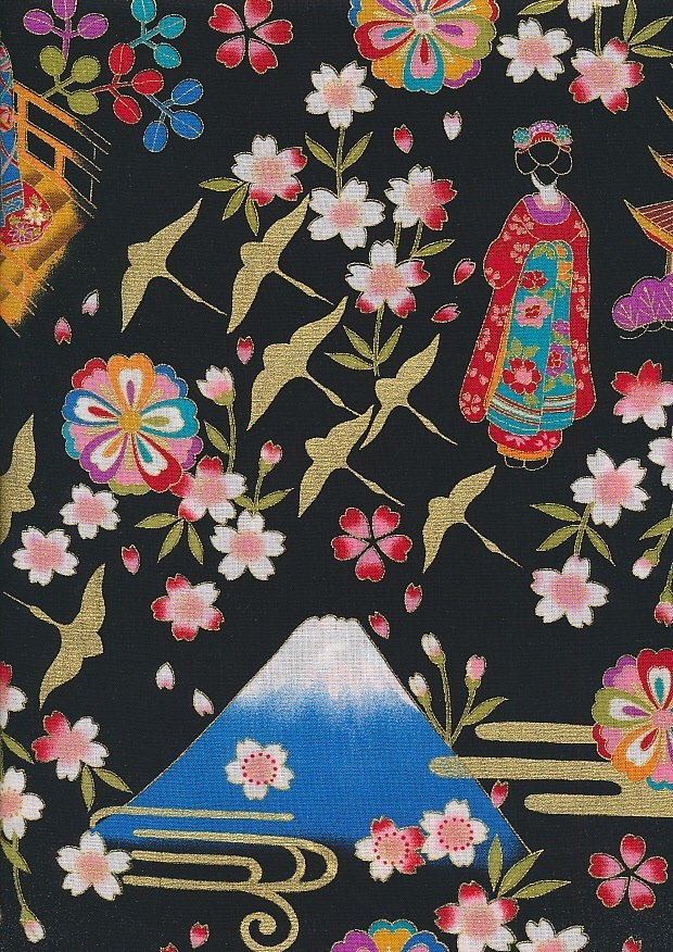 Authentic Japanese Fabric - 28