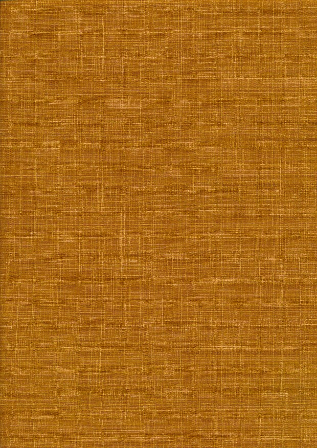Sevenberry Japanese Linen Look Cotton - Plain Burnt Orange