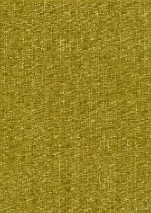 Sevenberry Japanese Linen Look Cotton - Plain Chartreuse