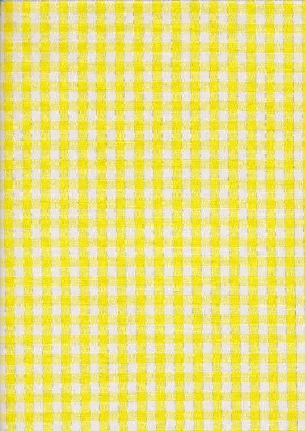 Poly Cotton Gingham - 101