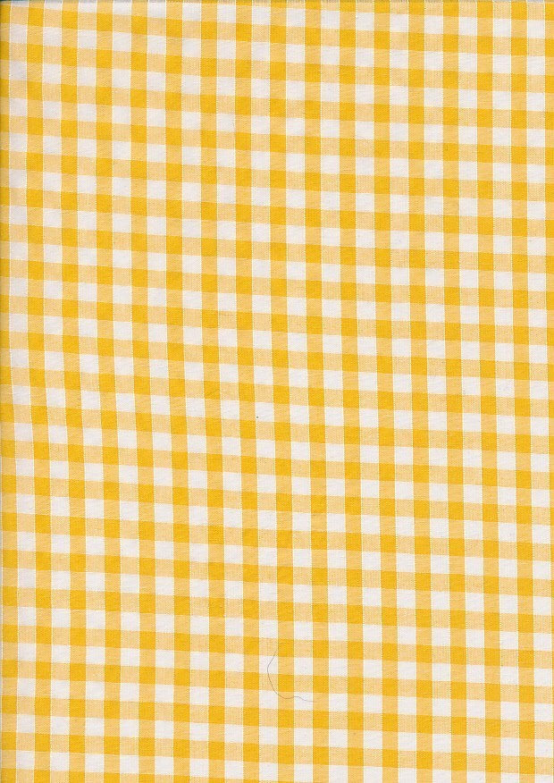 Poly Cotton Gingham - 102