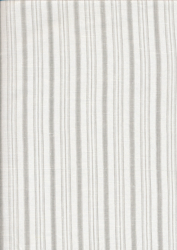 Linen - Taupe Stripe