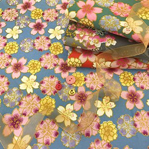 Fabric Freedom - Oriental Floral Gilded