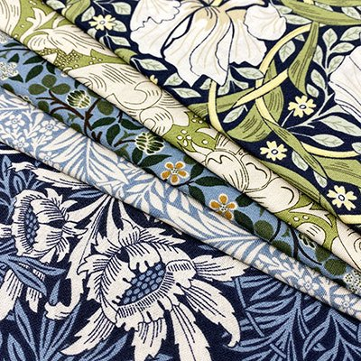 V&A Fabrics - William Morris & Alice In Wonderland