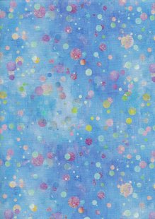 3 Wishes - In The Meadow Tossed Blue Dots