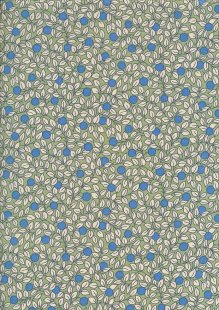 Pima Cotton Lawn - Green Berry