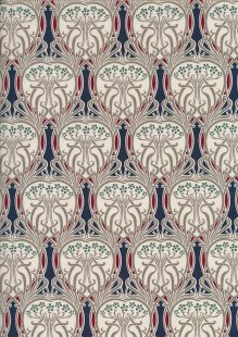 Pima Cotton Lawn - Navy Morris