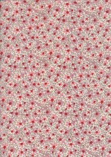 Pima Cotton Lawn - Pink Bouquet